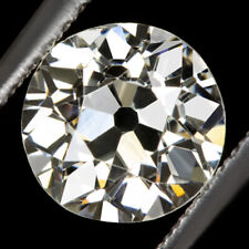 Diamond Vintage Antique Natural 1.5 Carat 1.44c Certified I Vs2 Old European Cut