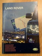RANGE ROVER DISCOVERY 4 / LR4 NAVIGATION SYSTEM OWNERS HANDBOOK MANUAL 2009-16