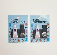2 Packs Bike Flat Tire Puncture Tube Repair Kit Bicycle Inner Interior Patch NEW