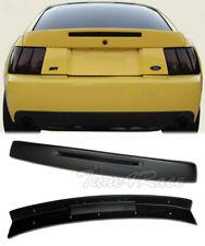 For 99-04 Ford Mustang Rear Wing Trunk Spoiler w/ Brake Light Insert CBR Style