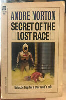 Secret Of The Lost Race by Andre Norton PB vintage 1959 Ace 75830