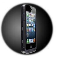 iPhone 5 5S SE 2400mAh Zusatzakku Batterie Extern Akku Case Hülle PowerPack Slim