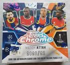 Topps Chrome Match Attax UEFA Champions League Soccer Box Fußball 2020 OVP Trading Card Displays - 261332