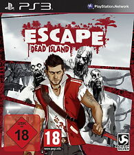 Escape Dead Island-USK 18-Sony PlayStation 3/ps3-nuevo & OVP