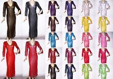 Belly Dance Baladi Galabeya Dress Costume Dancing Wear Outfit S/M Size LO