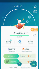 Pokemon Go account level 30 - 400K+ dust - 1K+ Magikarp Candies -Email Changable