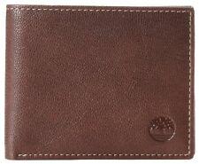 Timberland Blix Passcase cuero Auténtico Marrón tarjeta de Crédito plegable