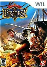 Sid Meiers Pirates WII NEW! BLACKBEARD, CAPTAIN KIDD, MORGAN, SHIP COMBAT, SWORD