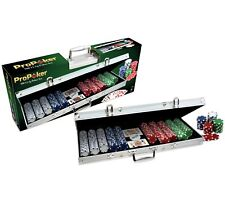 Genuine ProPoker Professional 500 Chip Poker Set in Aluminium Case