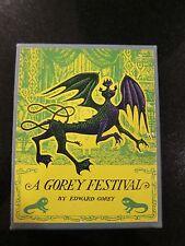 A Gorey Festival (4 vols) in Slipcase 1st Thus.1964. Signed by Edward Gorey