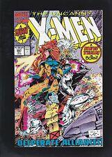 Uncanny X-Men #281 New Team Starts! 1st Trevor Fitzroy!