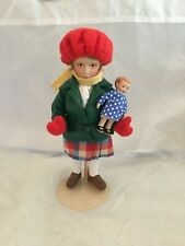 Norman Rockwell's Little Girl and Her Doll figurine/doll from Danbury Mint