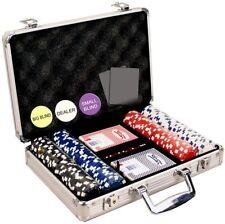 Set Poker Chips 200 Dice Strip Poker Gambling Game Professional 11.5gm