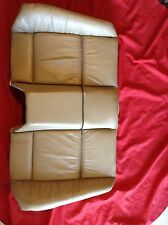 BMW E36 M3 Convertible Rear Tan / Beige Leather Back Rest Seat