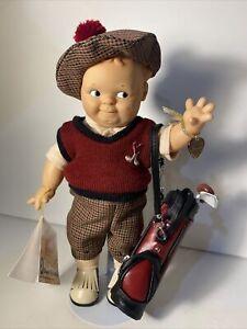 """Scootles Kewpie Golfer Boy Jesco 11"""""""