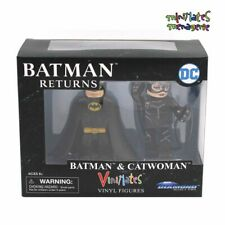 Vinimates Batman Returns Movie Batman & Catwoman Vinyl Figure (Keaton, Pfeiffer)