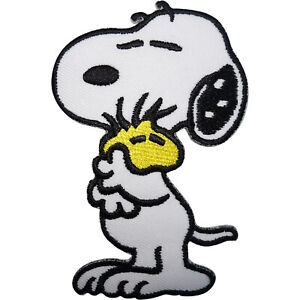 Snoopy Patch Woodstock Embroidered Badge Iron Sew On T Shirt Jeans Bag Applique