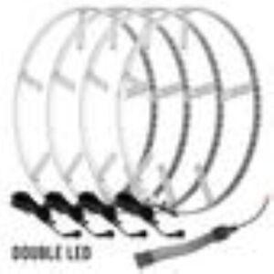 Oracle Lights 4228-001 LED Illuminated Wheel Rings Double LED White NEW