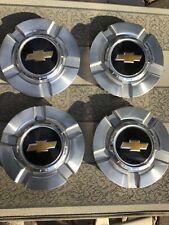 Set 4 Oem Gm Chevy Chevrolet Center Caps #9596343 mold 05-349 plastic chrome