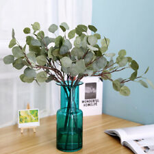 Artificial Plants Eucalyptus Leaves Silk Greenery Plants Wedding Party Home Deco