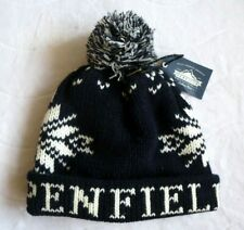 PENFIELD USA Navy Cuff BOBBLE BEANIE Hat Toque Pompom *SUPER COMFY* One Size