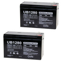 UPG 2 Pack - 12V 8Ah APC RBC109 UPS Battery