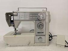 Vintage Working 1969 Tested Necchi 575FA Mechanical 18 Stitch Sewing Machine