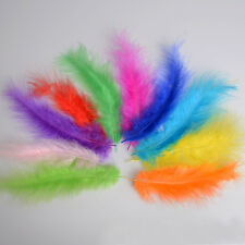 4-6'' 100PCS Rooster Tail Feathers 10-15CM Bridal Wedding Crafts Millinery Cloth