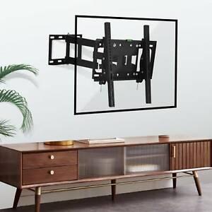 Heavy Duty TV Wall Mount Bracket Long Reach Swivel 26 32 40 43 49 50 55 inch