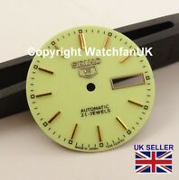 Replacement Dial For Seiko 5 7S26 Models Beautiful Pale Green 28.5mm