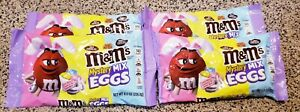 M&Ms Limited Edition Mix Eggs Chocolate Easter Candy - 11/2021   Lot of 4 bags