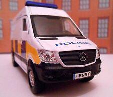 POLICE SPRINTER VAN PERSONALISED Toy Car NAME MODEL boy girl dad  BIRTHDAY GIFT!