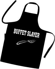 BUFFET SLAYER / Chefs / Cooks / Apron / Xmas / Birthday / Diet / Fat / Food /