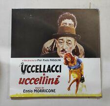 """UCCELLACCI E UCCELLINI (ENNIO MORRICONE) LP 10"""" ORIGINAL SOUNDTRACK SEALED"""