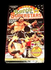 WWF WWE BATTLE OF THE SUPERSTARS 1992 VHS TAPE ORIGINAL VERY RARE SEALED