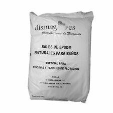 Sac Sel d'Epsom 25 Kg, Source concentrée de Magnésium, Sel 100% Naturel. Bain