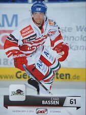016 Chad Bassen Augsburger Panther DEL 2011-12