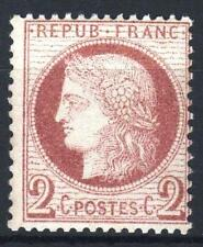 """FRANCE STAMP TIMBRE 51 """" CERES 2c ROUGE-BRUN 1872 """" NEUF xx A VOIR   P227"""
