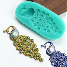 Peacock Diamond Silicone Cake Mould Cake Decorating Tool For Jewelry Crafts Mold