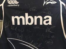 Sale Sharks Signed Squad Shirt 2012/13 Rugby Union Premiership Team Autographs