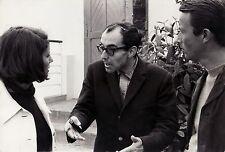 JEAN-LUC GODARD / UNE FEMME MARIÉE (1964) Vtg orig bw BTS still - Meril, Leroy