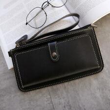 Women Clutch Leather Wallet Long Card Holder Phone Bag Case Purse lady Handbags.