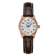 Longines Master Colección Automático oro Rosa reloj mujer L21288783