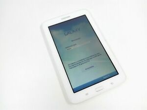 "Tablet Samsung Galaxy Tab 3 8 Gb 1,5 Gb Ram 7"" Blanco Wi-Fi Android T110 MARCAS"