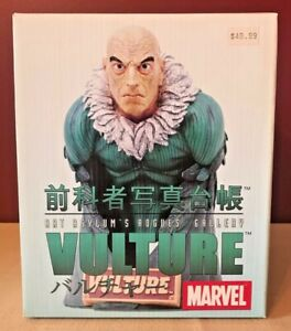 2002 Art Asylums Rogues Gallery Marvel Vulture Bust NEW IN BOX