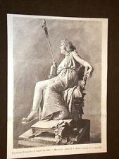 Messalina Statua di V.Alfano Esposizione Promotrice di Napoli nel 1893