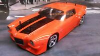 Custom Painted Body 71 CHEVY CAMARO Z28 for 1/10 RC Drift Cars Touring HPI 200mm