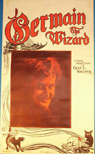 (Karl) Germain the Wizard small poster-Devilish photo- Lee Jacobs reprint-aF
