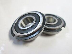 """Sears Craftsman 6""""x9"""" Belt Disc Sander Idler Pulley Bearings Set of 2, 38536"""