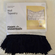 NEW Cactus Tapestry 6'x4' Black/White - Room Essentials from Target - EB55